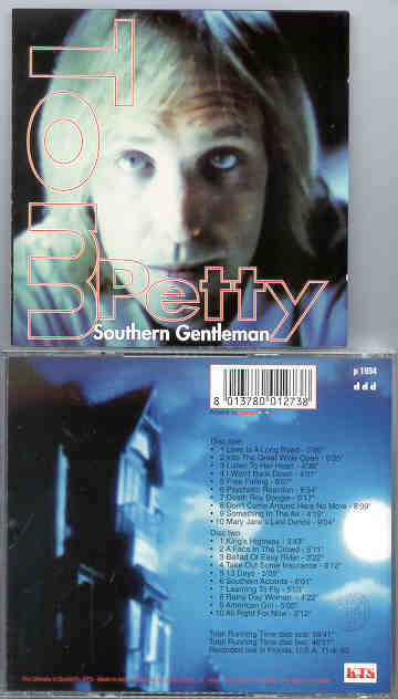 Tom Petty - Southern Gentleman ( KTS ) ( 2 CD!!!!! set ) ( Live in Florida , USA , 11-4-93 )