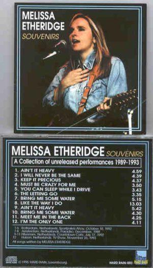 Melissa Etheridge - Souvenirs ( A Collection of Unreleased Performances 1989 - 1993 )