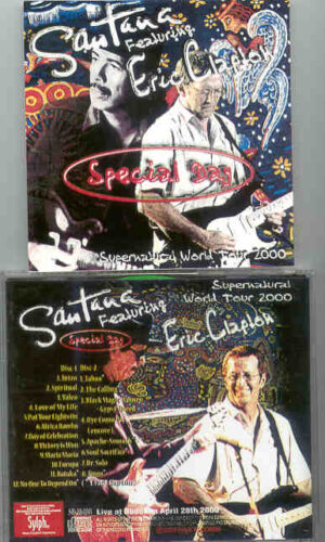 Santana - Special Day ( 2 CD!!!!! SET ) ( Featuring Eric Clapton )( Budokan , Tokyo , Japan , April 28th , 2000 )