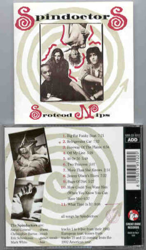 Spin Doctors - Srotcod Nips  ( Great Dane ) ( Live From the 1993 European Tour )
