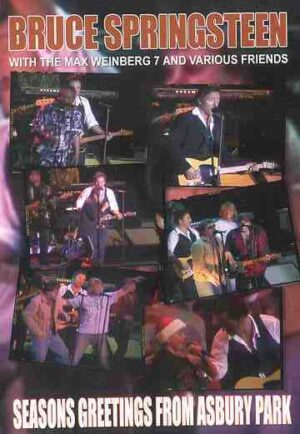 DVD Bruce Springsteen - Seasons Greetings From Asbury Park