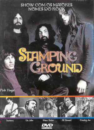 DVD Pink Floyd - Stamping Groung Fest. ( Rotterdam 1970 )( W/ Jefferson Airplane , Santana , Byrds & More )