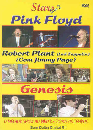 DVD Pink Floyd - Stars Live 2 ( With Robert Plant & Genesis )
