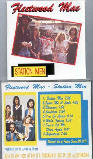 Lindsey Buckingham Fleetwood Mac - Station Men ( Oh Boy ) ( Live at Passaic , New Jersey , 1975 )