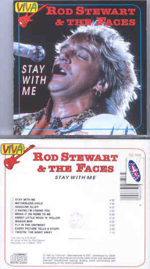 The Face / Rod Stewart - Stay With Me ( Viva Recs )