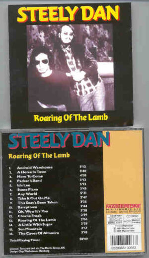Steely Dan - Roaring Of The Lamb ( Mastertone ) ( 16 unreleased tracks )