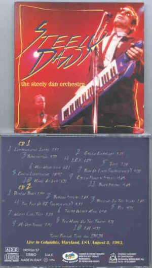 Steely Dan - The Steely Dan Orchestra ( 2 CD!!!!! SET ) ( Live in Maryland , USA , August 8th , 1993 )