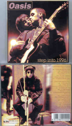 Oasis - Step Into 1996  ( KTS ) ( Various rare takes from 1994-1995 )