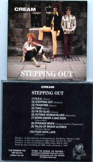 Cream - Stepping Out ( CREAM ) ( Swingin' Pig ) (