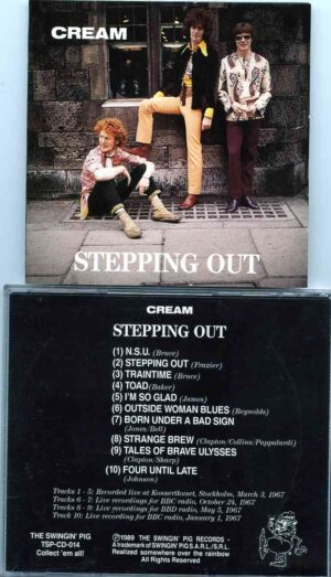 Jack Bruce - Stepping Out ( CREAM ) ( Swingin' Pig ) (