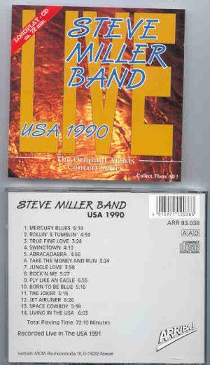 Steve Miller Band - USA 1990