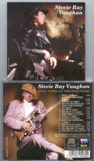 Stevie Ray Vaughan - Good Vibes At The Spectrum ( Midnight Beat ) ( Montreal , Canada , 1983 + '83 Reading Fest , UK )