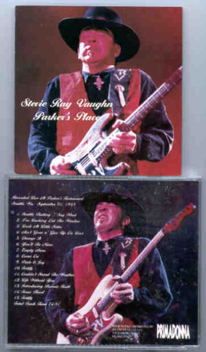 Stevie Ray Vaughan - Parker's Place ( Parker's Restaurant , Seattle , WA , September 1st , 1985 )
