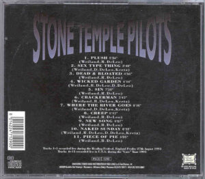 Stone Temple Pilots - Europe - USA 1993