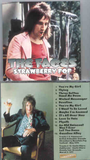 The Face / Rod Stewart - Strawberry Pop ( Vancouver 1970 , Sta Clara 1971 )