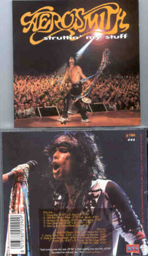 Aerosmith - The Ultimate Killer Show ( Oh Boy Recs. ) ( Tower Theater , Upper Darby , PH , 1978 )