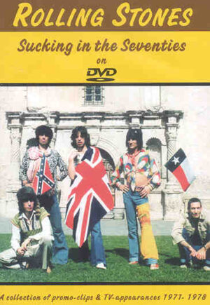 DVD The Rolling Stones - Sucking In The 70's ( Tv & Promo Clips 1971 - 1978 )