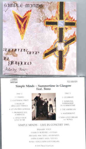 Simple Minds - Summertime In Glasgow ( Feat. Bono ) ( Live In Concert 1985 )