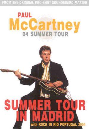 DVD Paul McCartney - Summer Tour In Madrid ( Madrid , Spain , 2004 )