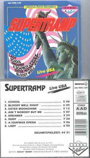 Supertramp - Live In U.S.A.
