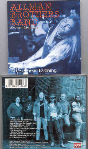 Allman Brothers Band - Sweet Melissa ( An Acoustic Evening )( Los Angeles , California , USA , June 11th , 1992 ) ( KTS )