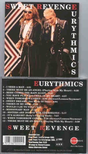 Eurythmics - Sweet Revenge ( Live In Europe ) ( Big Music )