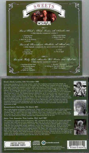 Cream - Sweets ( 2 CD!!!!! set ) ( Cream Live in London '66 & '67 plus Stockholm '67 )