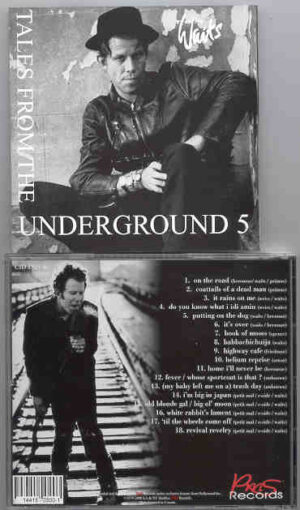 Tom Waits - Tales From The Underground Vol. 5 ( Assorted Rarities )