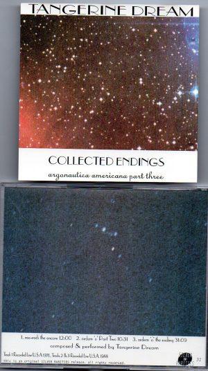 Tangerine Dream - Collected Endings Argonautica Americana Part Three( Live in USA 1988 ) ( Silver Rarities )