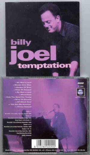 Billy Joel - Temptation ( Live in USA 1993 ) ( Big Music )
