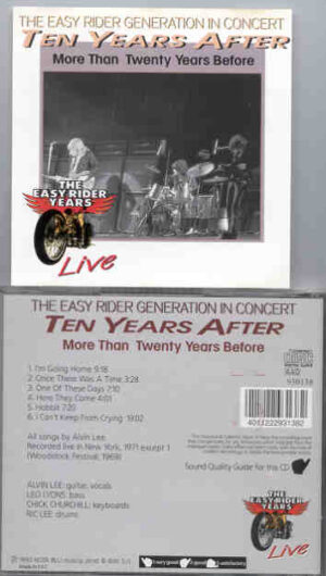 Ten Years After - More Than 20 Years Before ( Live in USA 1971 )