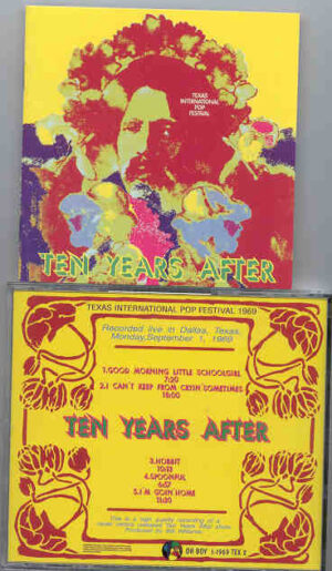 Ten Years After - Texas International Pop Festival ( Oh Boy )( Sept 1st , 1969 )