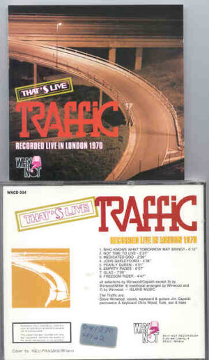 Traffic - That's Live Traffic , London 1970 ( Why Not ? Records )