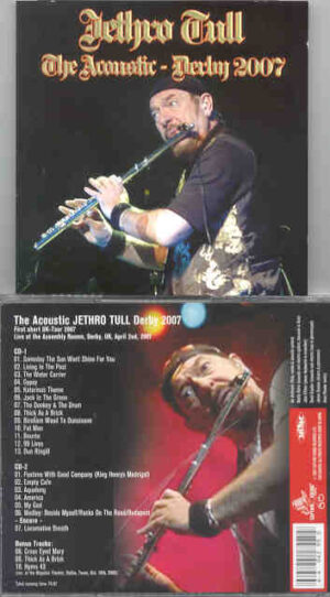 Jethro Tull - Acoustic Jethro Tull Derby 2007 ( 2 CD!!!!! set ) ( Assembly Room , Derby , UK , April 2nd , 2007 )