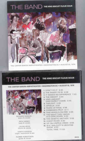 The Band - The Carter Baron Amphitheater ( Washington , DC , Augusta 1976 )