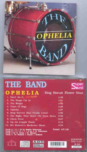 The Band - Ophelia