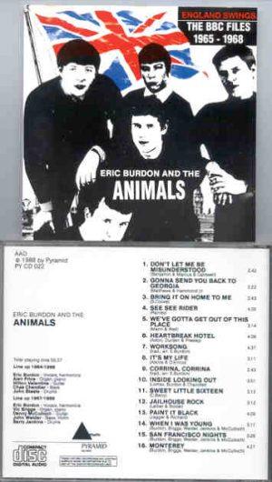 Eric Burdon and The Animals - The BBC Files  ( Triangle Recs )