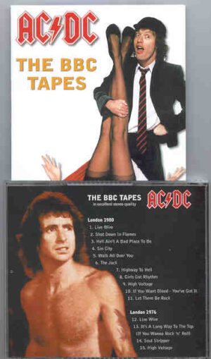 Ac-Dc - The BBC Tapes  ( London 1980 - London 1976 )
