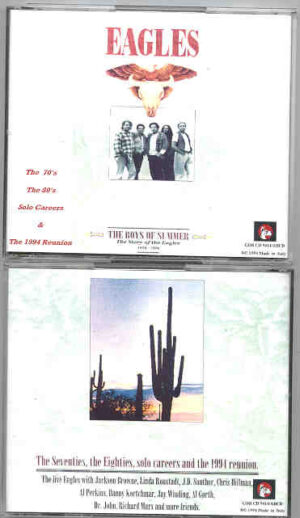 The Eagles - The Boys Of Summer ( 4 cd set ) ( Great Dane )