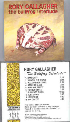 Rory Gallagher - The Bullfrog Interlude ( Flashback ) ( Live 1972 - 1973 )