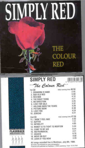 Simply Red - The Colour Red ( Flashback ) ( 2 CD!!!!! SET )