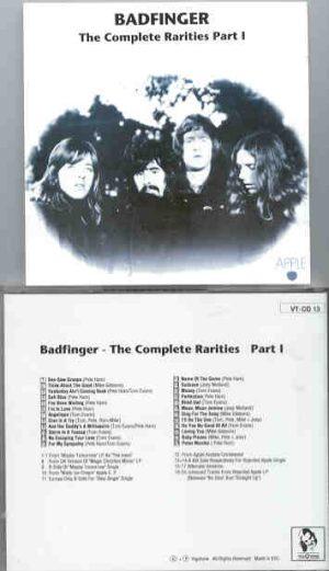 Badfinger - The Complete Rarities Part One ( Vigotone )