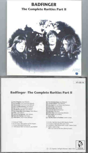 Badfinger - The Complete Rarities Part Two ( Vigotone )