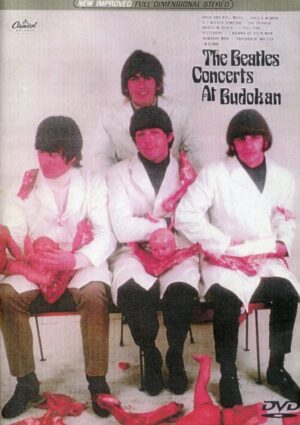 DVD The Beatles - Concerts At Budokan