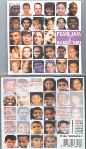 Pearl Jam - The Delta Tapes ( KTS ) ( 2 CD!!!!! set ) ( Salt Lake City , Utah , November 1st & 2nd , 1995 )
