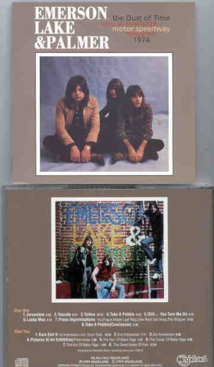 Emerson , Lake & Palmer - The Dust Of Time  ( Highland ) ( 2 CD!!!!! set )( Charlotte Motor Speedway , New York , USA  , 1974 )