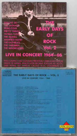 Various Artists - The Early Days Of Rock Vol. 2 ( Living Legend )