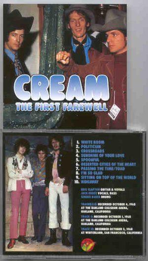 Cream - The First Farewell ( Cream )