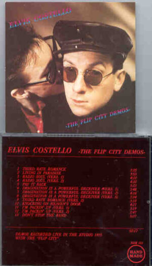 "Elvis Costello - The Flip City Demos  ( Live in the Studio , 1975 , with The ""Flip City "" )"