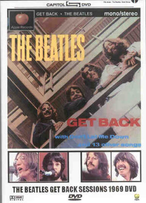 DVD The Beatles - Get Back Sessions 1969